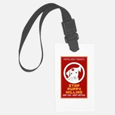 Stop Puppy Milling Luggage Tag