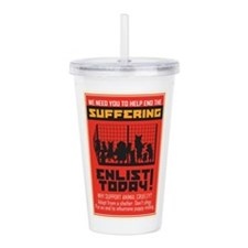 Adopt From Shelters Acrylic Double-wall Tumbler