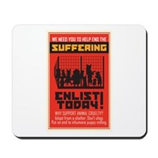 Adopt From Shelters Mousepad