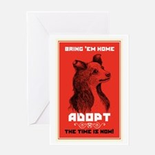 Bring 'Em Home Greeting Card