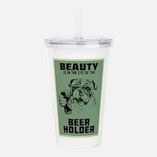 Beerholder Acrylic Double-wall Tumbler