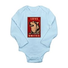 Love Unites Long Sleeve Infant Bodysuit
