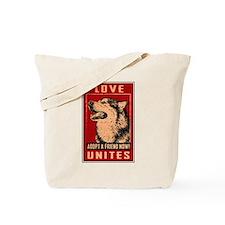 Love Unites Tote Bag