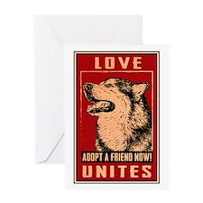 Love Unites Greeting Card