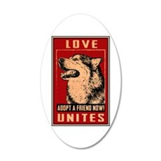 Love Unites Wall Decal