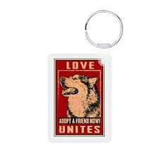 Love Unites Keychains