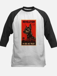 Dog Revolution Kids Baseball Jersey