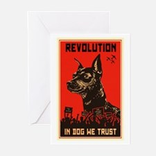 Dog Revolution Greeting Cards (Pk of 20)