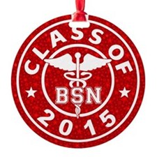 Class Of 2015 Bsn Ornament