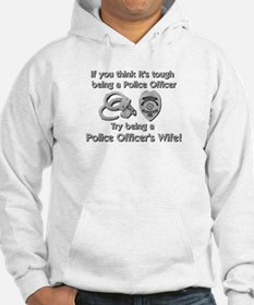 Tough Police Wife Hoodie