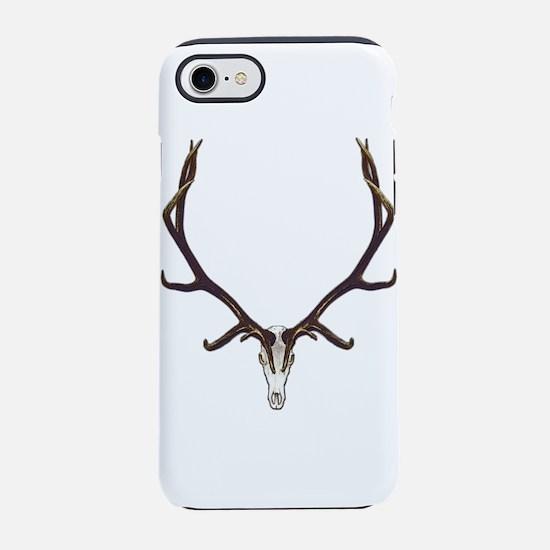 Bull elk skull European mount, iPhone 7 Tough Case