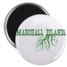 """Marshall Islands 2.25"""" Magnet (10 pack)"""