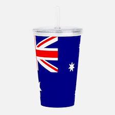 Australia Flag Acrylic Double-wall Tumbler