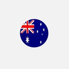 Australia Flag Mini Button