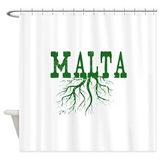 Malta Roots Shower Curtain