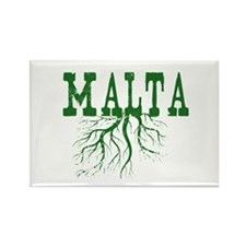 Malta Roots Rectangle Magnet