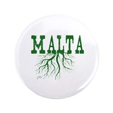 """Malta Roots 3.5"""" Button (100 pack)"""