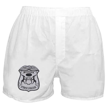 Michigan State Police Boxer Shorts