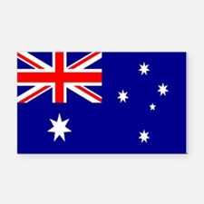 Australia Flag Rectangle Car Magnet