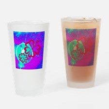 Pink Purple Blue Tropical Hibiscus Flowers Drinkin