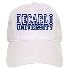 DECARLO University Baseball Cap