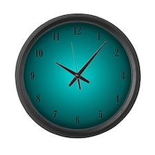 Aqua Large Wall Clock