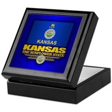 Kansas (v15) Keepsake Box