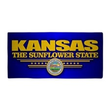 Kansas (v15) Beach Towel