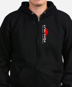 Cool Self defense Zip Hoodie (dark)