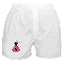 Pink Lady Boxer Shorts