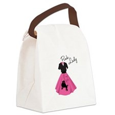 Pink Lady Canvas Lunch Bag