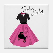 Pink Lady Tile Coaster