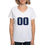 Dumbass 00 Women's V-Neck T-Shirt