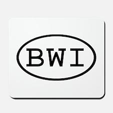 BWI Oval Mousepad