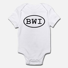 BWI Oval Infant Bodysuit