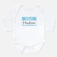 HelloMyNameIs...Hudson Body Suit