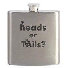 Heads Or Tails Flask