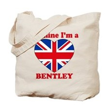 Bentley, Valentine's Day Tote Bag