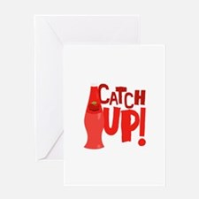 Catch Up Greeting Cards