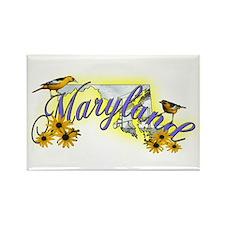 Maryland Rectangle Magnet