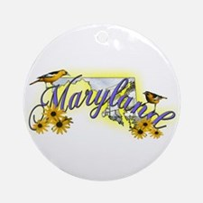 Maryland Ornament (Round)