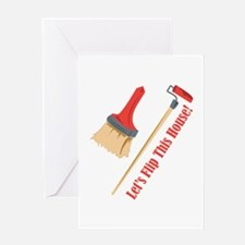 Flip This House Greeting Cards