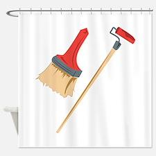 The Paint Job Shower Curtain