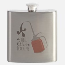 Well Oiled Machine Flask
