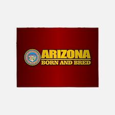 Arizona Born and Bred 5'x7'Area Rug