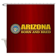 Arizona Born and Bred Shower Curtain