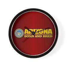 Arizona Born and Bred Wall Clock