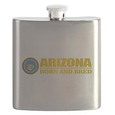 Arizona Born and Bred Flask