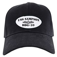 USS SAMPSON Baseball Hat