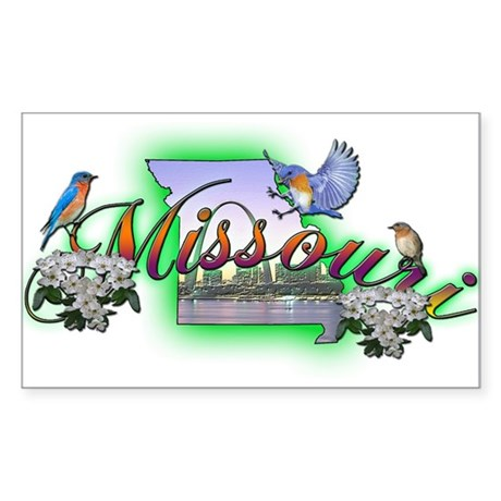 Missouri Rectangle Sticker